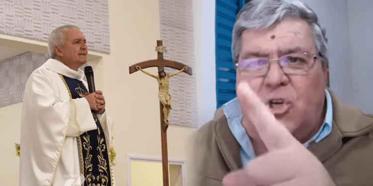 """Professor católico reage a declaração de padre: """"Isso daí não é a voz de Deus, é a voz do Demônio"""""""