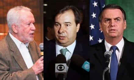 Alexandre Garcia desmente a imprensa imunda sobre o Governo Bolsonaro e Rodrigo Maia