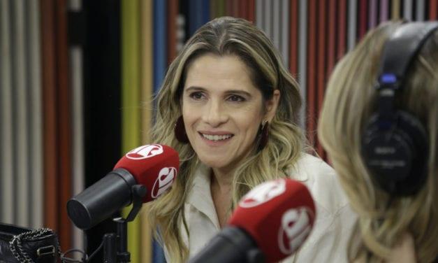 Ingrid Guimarães defende a manutenção da Lei Rouanet