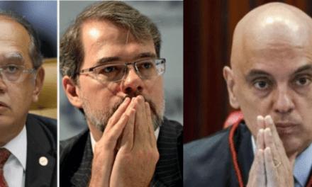 Cresce aliança de senadores pelo impeachment de Gilmar Mendes, Moraes e Toffoli