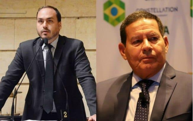 Carlos Bolsonaro e Mourão: será esta a verdade?