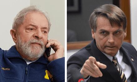 Mesmo após entrevista, Bolsonaro cresce 17 vezes mais que Lula