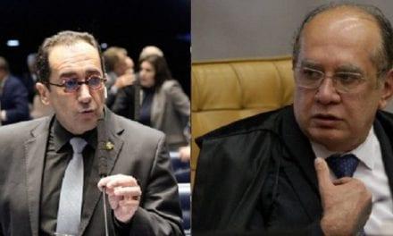 Senador Kajuro faz nova denúncia contra Gilmar Mendes