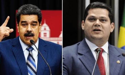 Ditador Venezuelano, Nicolás Maduro pede ajuda a Davi Alcolumbre