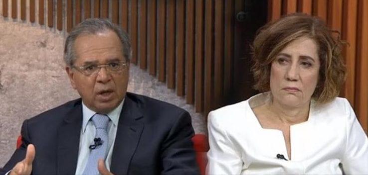 Video: Paulo Guedes dá uma aula de economia para jornalista Miriam Leitão