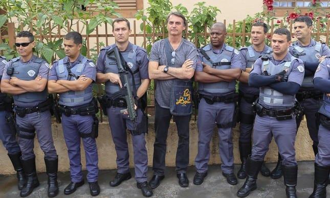Resultado de imagem para policias bolsonaro