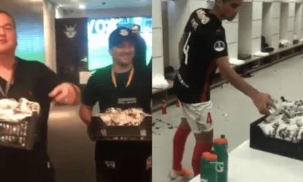 Socialismo: Jogadores Venezuelanos recebem ajuda alimentícia de jogadores do Conrinthians