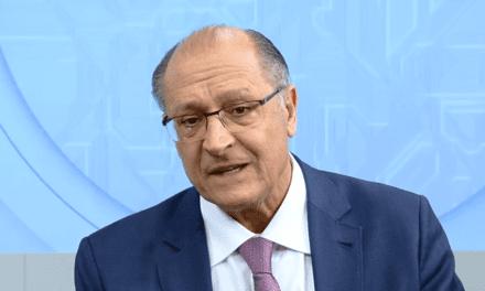 Para Alckmin, sua derrota foi consequência da facada em Bolsonaro