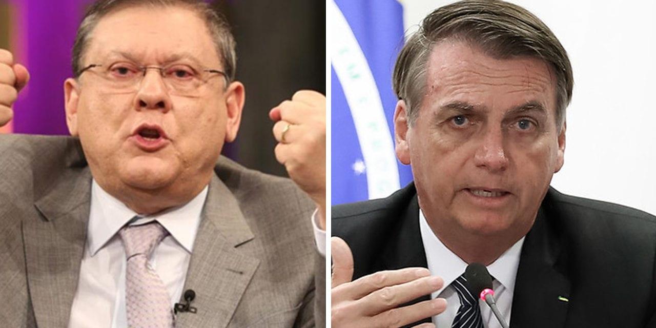 Bolsonaro estará ao vivo na Rádio Bandeirantes com Milton Neves às 11:30h– 12/05/2019