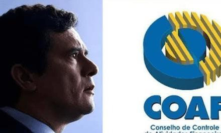 Petição online que pede pela devolução da Coaf ao Ministério Da Justiça já ultrapassa 130 mil assinaturas
