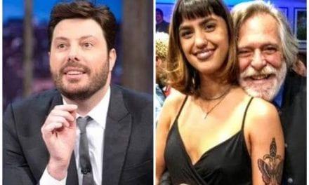 """Danilo Gentili da dica para nova Namorada de Zé de Abreu """"Para não levar cusparada na cara"""""""
