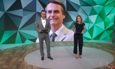 Video: Globo faz montagem para tentar ridicularizar Bolsonaro