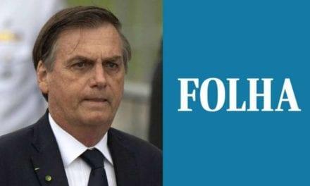 Nos EUA, Bolsonaro confronta repórter da Folha de SP após pergunta traiçoeira!