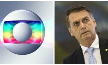 Presidente Bolsonaro faz grave acusação contra a Rede Globo durante coletiva de imprensa