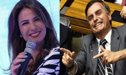 Insultada por entrevistar Bolsonaro, Luciana Gimenez desce do salto e mita com resposta