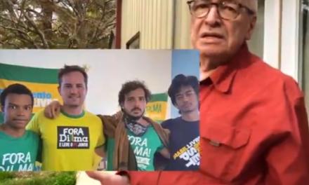 """Olavo de Carvallho compara MBL ao PT: """"Eles estão fazendo a mesma coisa"""""""