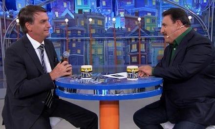 Bolsonaro será entrevistado no programa do Ratinho