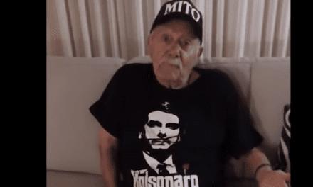 Video: Senhor de 92 anos se emociona ao receber video com resposta do presidente Bolsonaro