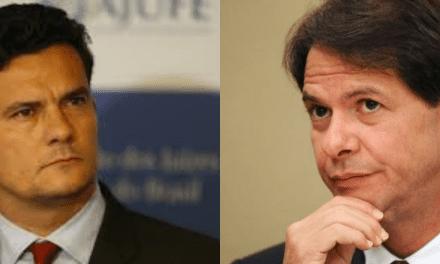 Cid Gomes, irmão de Ciro, ameaça ministro Moro com CPI, xinga de sensacionalista e recebe resposta categórica