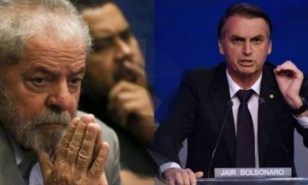 """Da prisão, Lula afirma que """"facada foi algo fantástico"""" para Bolsonaro"""