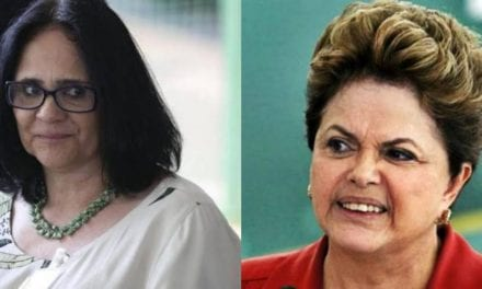 Dilma nas mãos da manistra Damares Alves