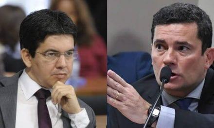 Senador Randolfe Rodrigues faz criticas a Moro por ter virado ministro de Bolsonaro, e recebe resposta contundente