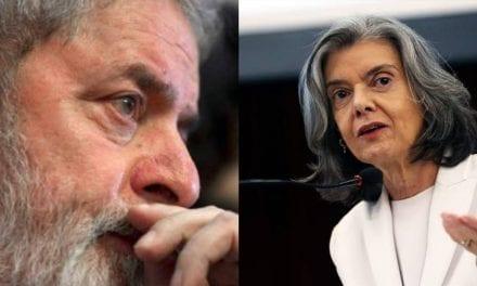 Cármen Lúcia surge novamente no caminho de Lula