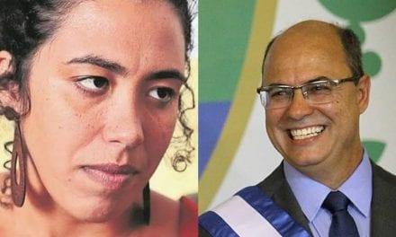 Witzel nega escolta armada para deputada do PSOL desarmamentista