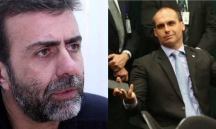 """Freixo tenta 'lacrar' pra cima de Eduardo Bolsonaro sobre posse de armas, e leva resposta na lata: """"Não importa o que diga, nada ofusca sua hipocrisia!"""""""""""