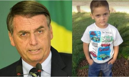 Bolsonaro se pronuncia sobre o caso do menino Rhuan