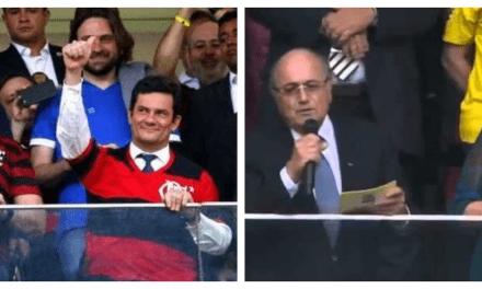Video: A comparação entre o tratamento das pessoas para Lula/Dilma e Bolsonaro em um estádio de futebol