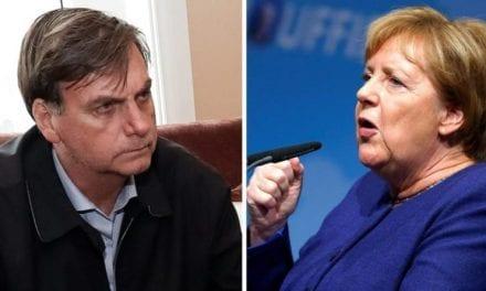 Bolsonaro coloca Chanceler da Alemanha, Angela Merkel, em seu devido lugar