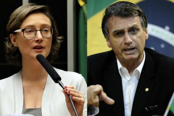 Bolsonaro se desculpa com Maria do Rosário