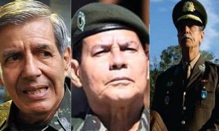 Generais saem em defesa de ministro Moro e mandam recado contundente aos criminosos