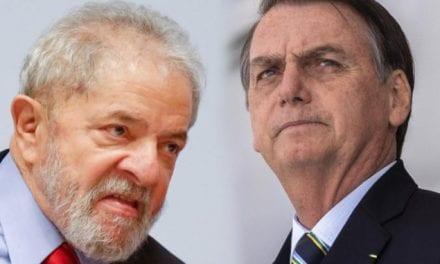 Direto da prisão, Lula diz que Bolsonaro está destruindo o país