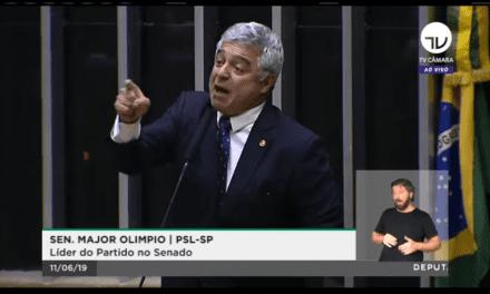 Major Olímpio perde a cabeça com petistas após chamarem Sérgio Moro e Dallagnol de criminosos