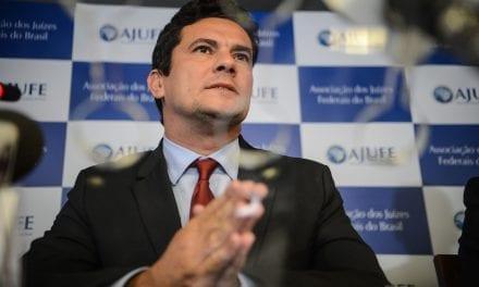 Sergio Moro concede coletiva de imprensa sobre Hacker, vazamentos e Lava Jato