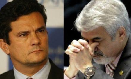 Senador petista Humberto Costa tenta intimidar ministro Moro com baixarias e fracassa