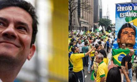 Em pouco mais de dois meses, Sérgio Moro alcança marca expressiva de seguidores no Twitter, e apoio ao ministro só aumenta