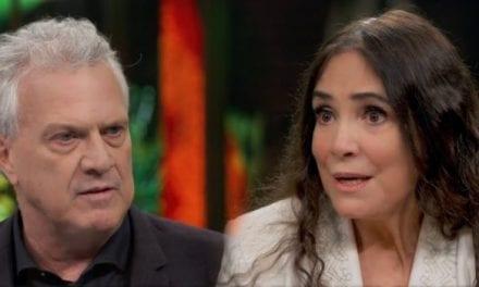No programa do Bial, Regina Duarte 'cala' Globo e declara apoio a Bolsonaro