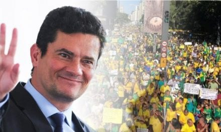 """Sérgio Moro se manifesta e celebra manifestantes: """"Eu vejo, eu ouço"""""""