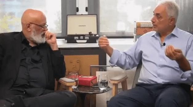 Em bate-papo com Pondé, William Waack detona a Rede Globo
