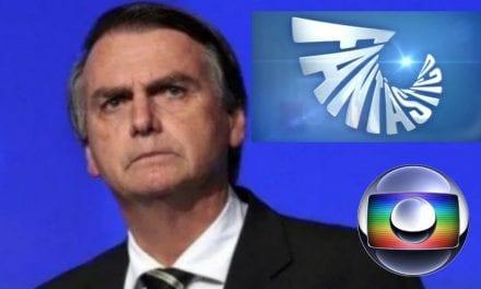 Desesperada, Globo volta a atacar Bolsonaro no Fantástico