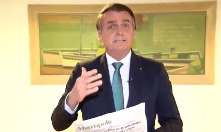 Jornal de grande circulação cria fake news para atacar o Presidente Bolsonaro e se dá mal