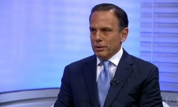 João Doria sai em defesa de presidente da OAB e ataca Bolsonaro