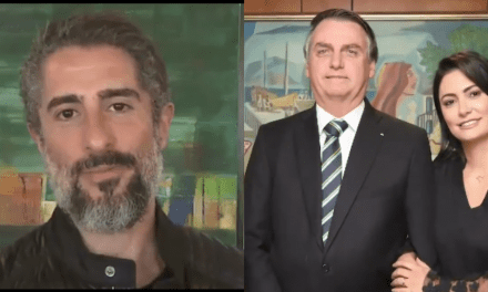 """Após se encontrar com Bolsonaro, Marcos Mion faz depoimento emocionante: """"Foi inspirador"""""""