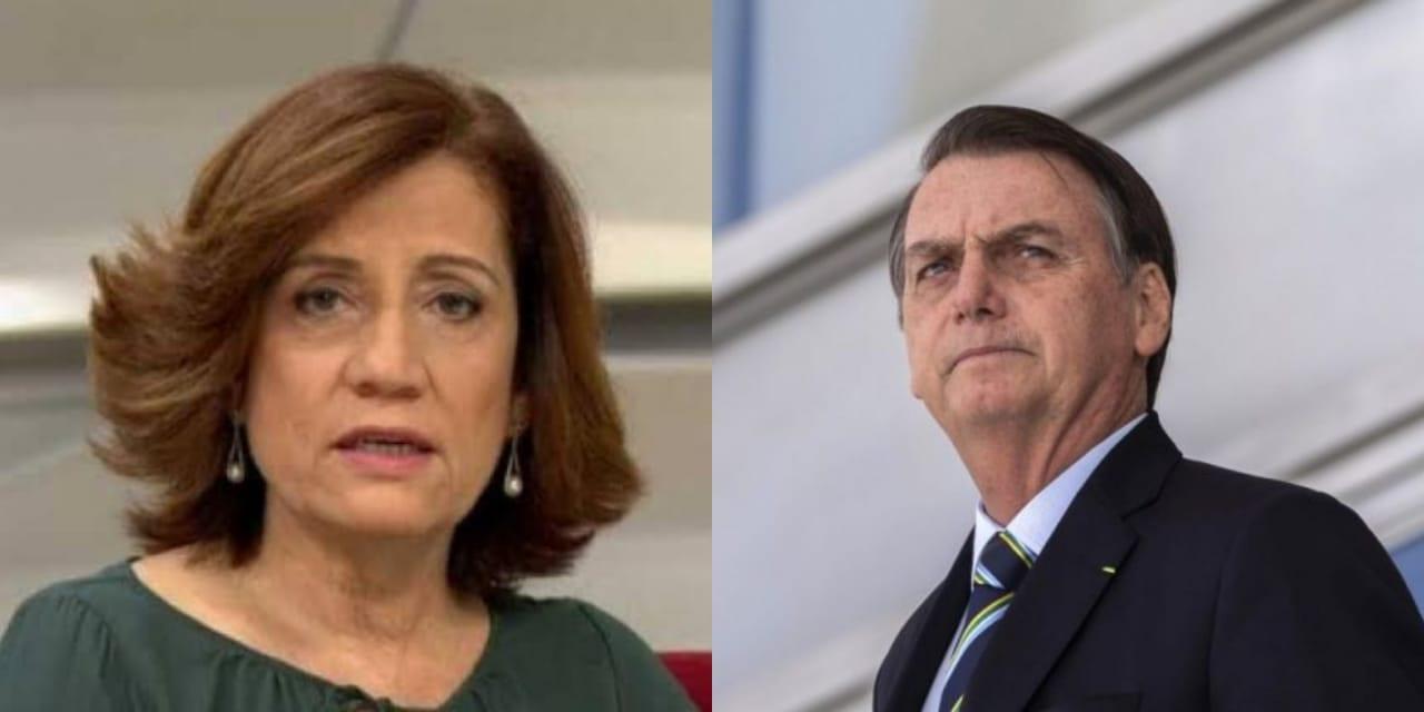 """Jornalista da Globo Miriam Leitão volta a atacar Bolsonaro: """"Ontem foi o dia de sentir nojo"""""""