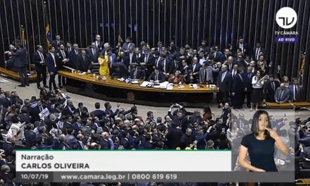 Urgente! Câmara dos Deputados aprova o texto-base da reforma da Previdência