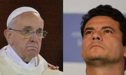 Papa é criticado após publicar possível indireta para Moro