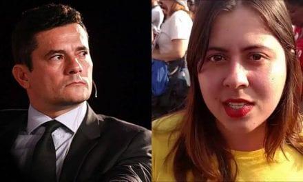 Deputada do PSOL tenta intimidar Sergio Moro, e educadamente, é refutada pelo ministro